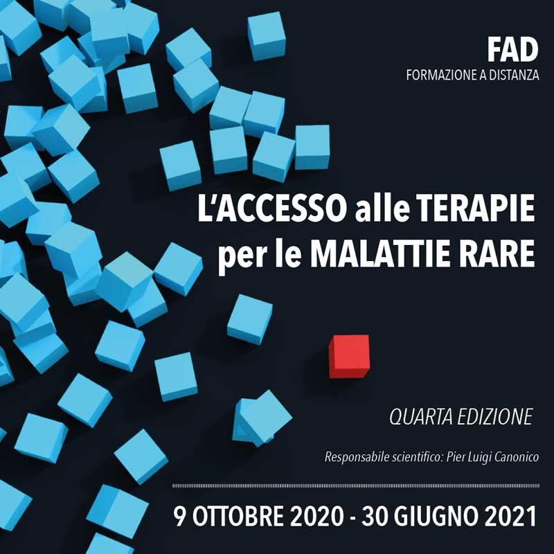 L'ACCESSO ALLE TERAPIE PER LE MALATTIE RARE - IV Edizione